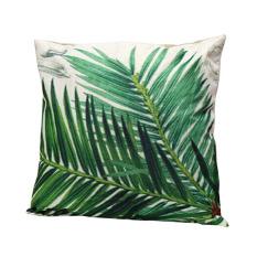 Bluelans Branches Cotton Linen Leaf Pillow Case Sofa Throw Cushion Cover Home Decor Green (Intl)