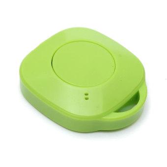 Bluetooth 4.0 Anti-lost Keys Wallet Finder Smart Tracker Green - Intl