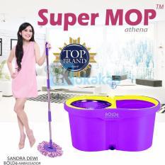 Bolde Alat Pel Otomatis Super Mop Athena - Ungu