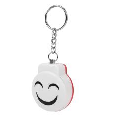 BolehDeals Hotsale Mini Personal 120dB Security Siren Alarm with Keychain - White