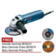 BOSCH GWS 5-100 + Handle Mesin Gerinda 4