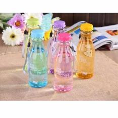 Botol Minum Unik BPA Free Anti Tumpah L88 - Ungu