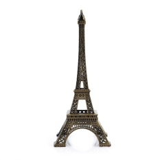 Perunggu Nada Paris Menara Eiffel Miniatur Patung Model Vintage Source · Bronze Tone Paris Eiffel Tower