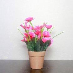 Harga Buket Bunga Mawar Vas Melamin Putih Murah Rumah Tangga Source · Buket Bunga Tulip Vas
