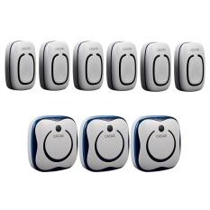 CACAZI, 6 Emitter + 3 Receivers 280M Long-Range Wireless DoorBell, Wireless Door Chime, Wireless Bell