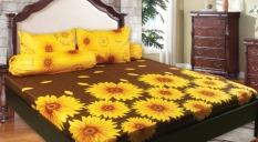 California Sprei Motif Sunflower
