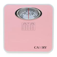 Camry Timbangan Badan Manual 120 kg - Pink