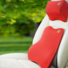Car Pillow Super Soft Memory Foam Auto Seat Cover Head Neck Rest Cushion Headrest Pillow Lumbar Back Support Cushion