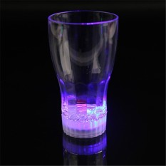 Colorful LED Beer Cup Flash Light Shot Drink Glass Bar KTV Night Club (Intl)