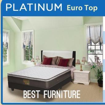 Comforta Platinum Euro Top Plush Top Springbed set uk 160x200 .