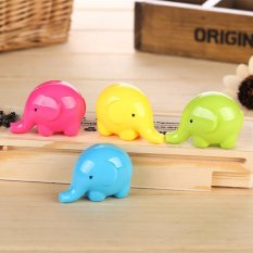 Creative Stationary Lovely Cartoon Elephant Pencil Sharpener Student Sharpener