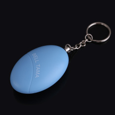 Cute Mini Personal Portable Guard Safety Security 120db Alarm Keychain Blue