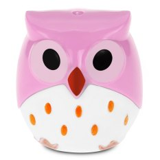Cute Novelty Cool Funny Cartoon Owl Shape Two-Hole Pencil Sharpener School Gift For Kids Teens