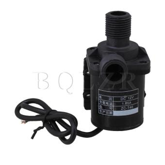 DC 12 V IP68 Sentrifugal Pompa Air (Hitam)