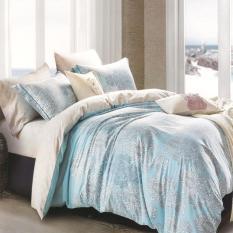 Depo Selimut Blue Victorian Full Katun Queen Size