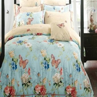 Depo Sprei Butterfly Sateen Jepang Extra King Size