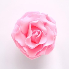 Diotem Wedding Foam Simulation Roses Rose Flower - Pink 15cm - intl