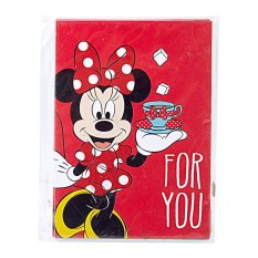 Disney Minnie Mouse For You Red Envelope (pack of 6)