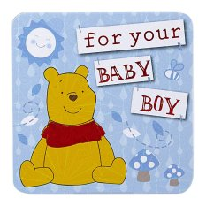 Disney Winnie The Pooh for your Baby Boy Mini Gift Card