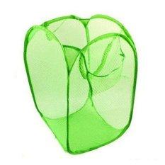 diva-Davi Keranjang Laundry bag lipat - hijau