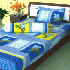 Dixon Set Sprei Anak 100%Katun 100x200 Fox -Blue