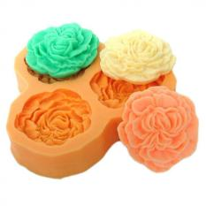DIY Silicone Molds For Cake Decorating Fondant Form Mini Resin Flower Sugar Clay Chocolate Molds Candy Mould Kitchen Color Green F0382HM50 - Intl