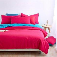 Double Side Use 2017 Spring Bedding Set Brief Style Bed Linens 5 Size Zebra-stripe Bed Sheet Microfiber Brushed Bed Set Bedding (Super King) - Intl