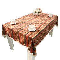 E:140*140 Bohemia Coffee Table Cloth Tablecloth (Intl)