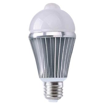 E2.5W PIR Motion Sensor Security Flood Projection Bulb Light Lamp Floodlight Bulb Warm White Light