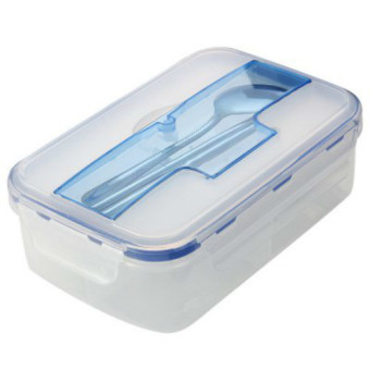 Ecofriendly Portable Microwave Lunch Box With Soup Bowl Chopsticks Spoon