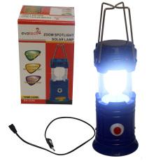 EELIC 3336 Biru 1W + 8 SMD LED Multifungsi Lampu Senter - Camping Lentern - Emergency
