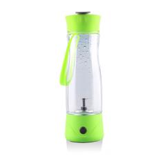 Electric Portable Usb Rechargeable Milk Shake Juice Blender Shaker Bottle 350Ml Green - intl