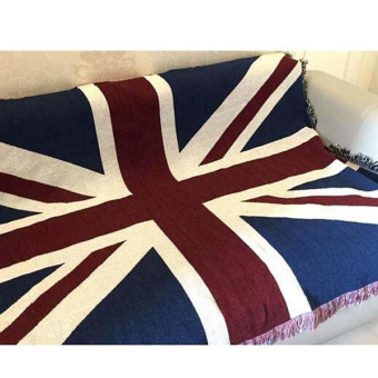 England Style Exquisite Cotton Tassels Sofa Blanket Sofa Cover Table Cloth Decorative Tapestry Gifts 125x150cm - Intl