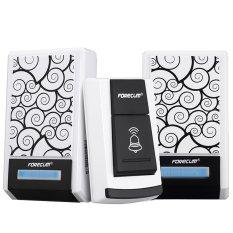 Wireless 36 Music Waterproof Remote Control Doorbell 2 Receicers (Intl)