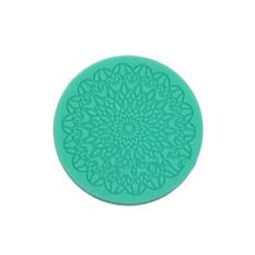 Fang Fang DIY Silicone Fondant Cake Lace Decorating Mold Baking Tool Impressing Mould (Green)