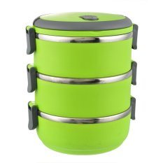 Fashion Three Layers Stainless Steel Bento Lunch Box For Kids China Dinner Set Portable Multifunctional