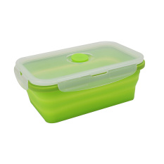 Foldable Lunch Bento Box Food Container Storage Bowl With Lid 800-1000ml New - Intl