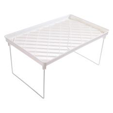 Foldable Storage Shelf Rack Holder Organizer For Kitchenbathroom - Intl