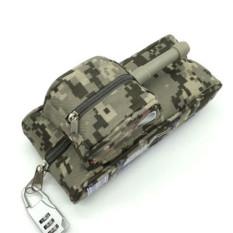 Funny Shark Lock Bag Bag Creative CF High-capacity Canvas Bag Pencil Box - Intl