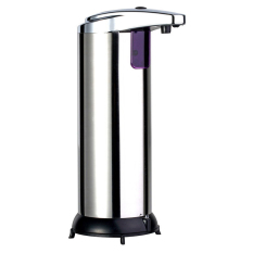 Gracefulvara Stainless Steel Hand Free Automatic Touchless Bathroom Soap Dispenser (Intl)