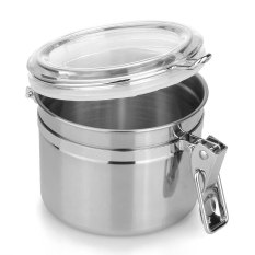 Grandmise Home Kitchen Stainless Steel Airtight Sealed Canister Dry Food Container