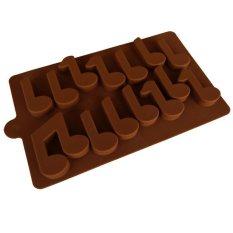 Griya Cetakan Musical Note-Coklat