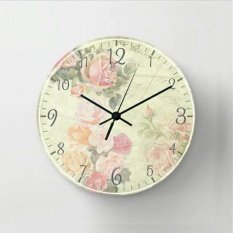 Halos Creation - Jam Dinding Shabby Chic Soft Flower