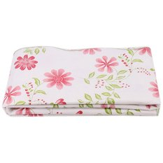 LALANG PVC Waterproof Dandelion Tablecloth Red
