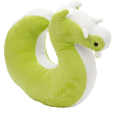 LALANG U Shaped Pillow Memory Neck Support Headrest Cushion Squirrel Light Green