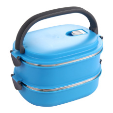 HAOFEI Insulated Lunch Box Food Storage (Blue)