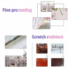 HAOFEI Wipe Clean PVC Vinyl Tablecloth Waterproof 140x180cm Small Fresh
