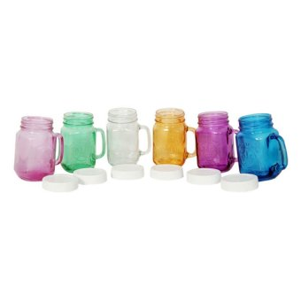 Harvest Set Mug Jar - 450mL - 6 Buah