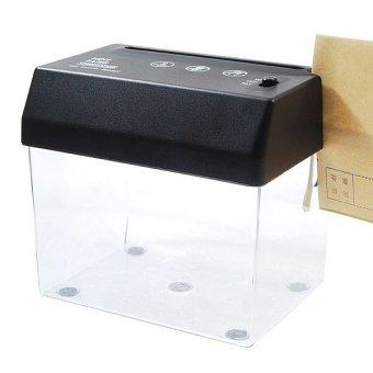 Mini USB Paper Shredder with Letter Opener Black Source · Here Mesin Penghancur Kertas Mini USB