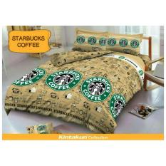 HG Kintakun Deluxe Sprei - 180x200 - Starbucks Coffee